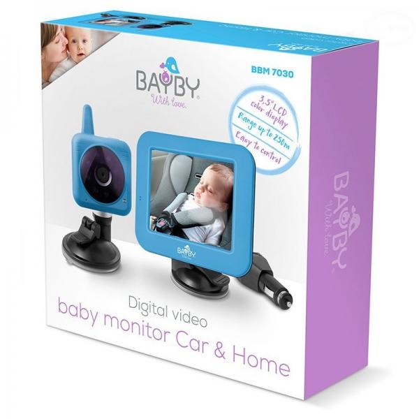 Bayby digitálna bezdrôtová pestúnka do auta