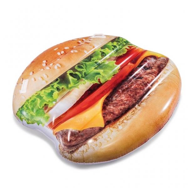 Nafukovacie lehátko Hamburger, 145 x 142 cm