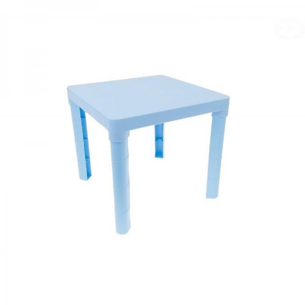 Tega detský plastový stôl - modrý