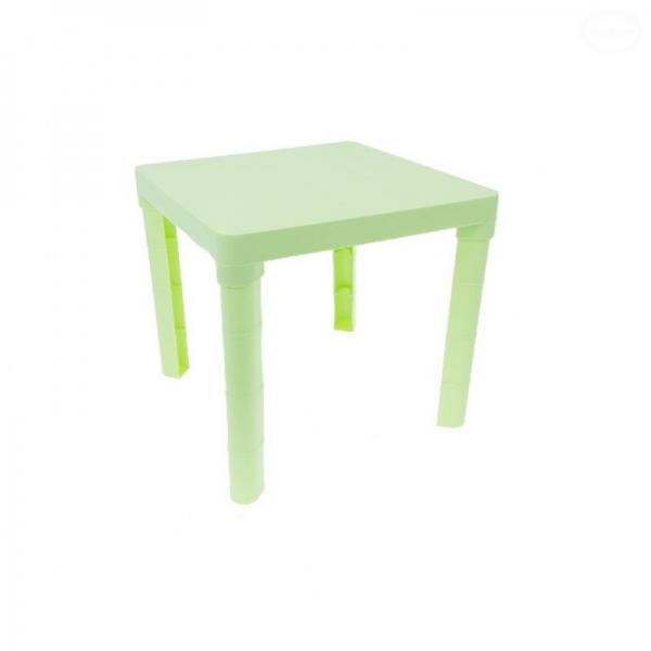 Tega detský plastový stôl - zelený