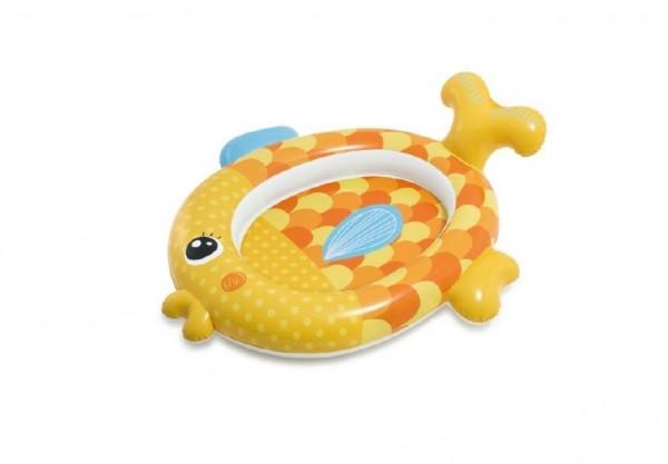 Bazén detský ryba nafukovací 140x124x34cm