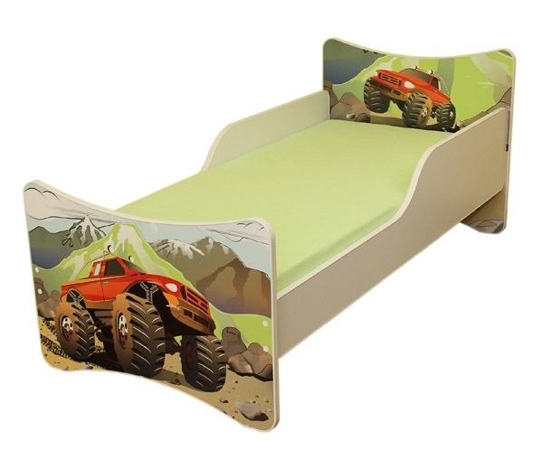 Detská posteľ Auto, 140x70