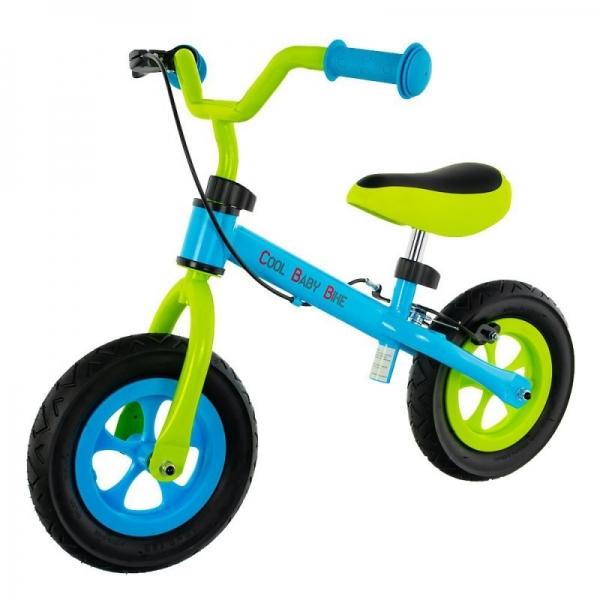 "Euro Baby Detské odrážadlo, bicykel Cool Air Baby - zeleno/modré, kola 10"""