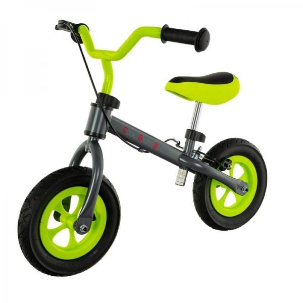 "Euro Baby Detské odrážadlo, bicykel Cool Air Baby - zeleno/sivé, kola 10"""