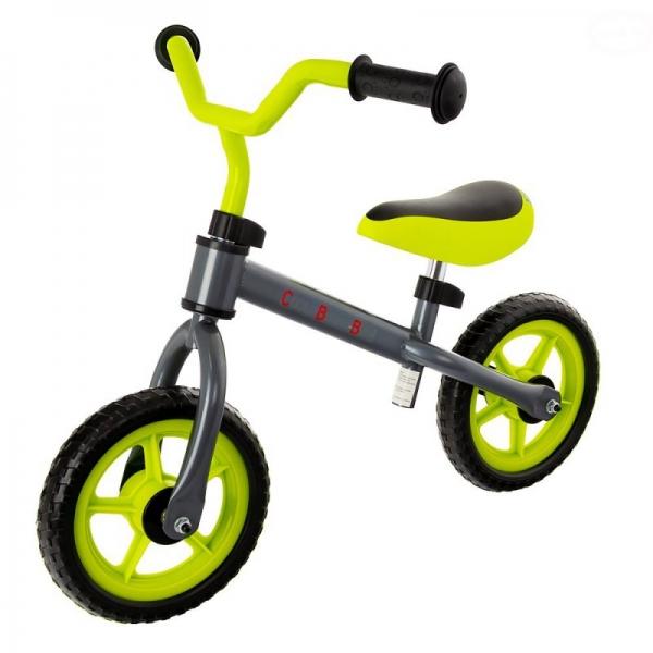 """Euro Baby Detské odrážadlo, bicykel Cool Baby - zeleno/sivé, kola - 9.5"""""""