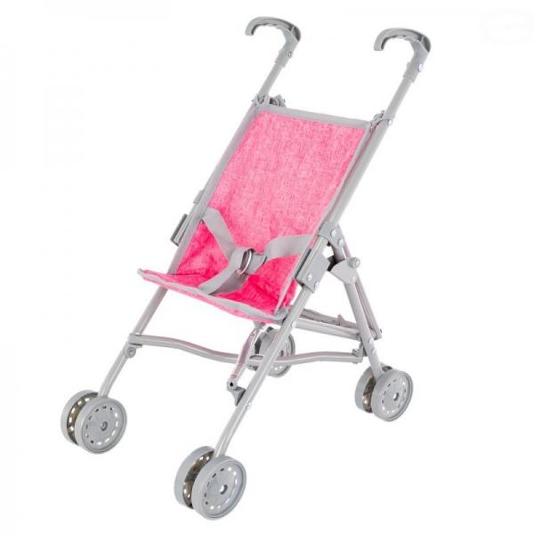 Golfový kočík Euro Baby pre bábiky - ružový
