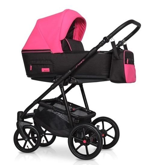 Detský kočík 2v1, Riko 2019 - Swift Neon - Electric Pink