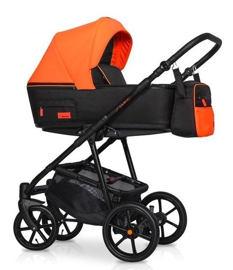 Detský kočík 2v1, Riko 2019 - Swift Neon -  Party Orange