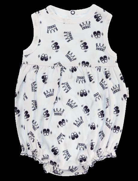 Body s nohavičkami Mamatti Princezna - krátky rukáv-68 (4-6m)