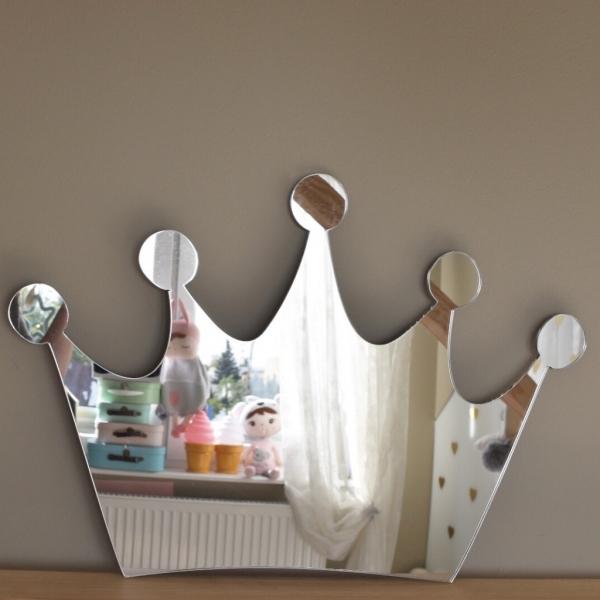 Zrkadlo Metoo na stenu - Koruna