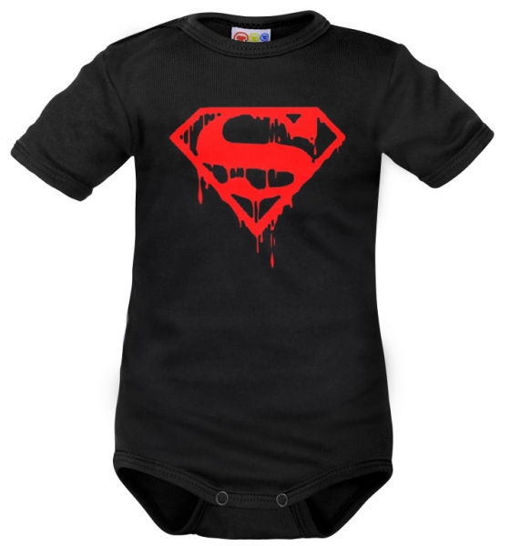 Body krátký rukáv Dejna Super Baby - čierne, veľ. 86-86 (12-18m)