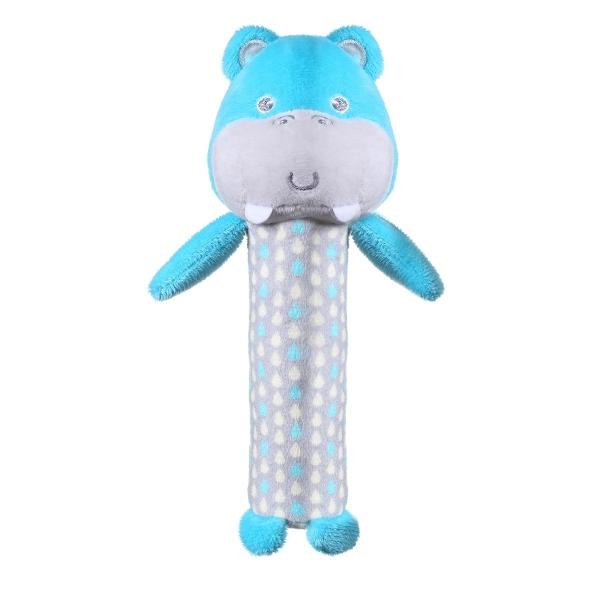BabyOno Plyšová pískacia hračka Hippo Marcel, 17 cm