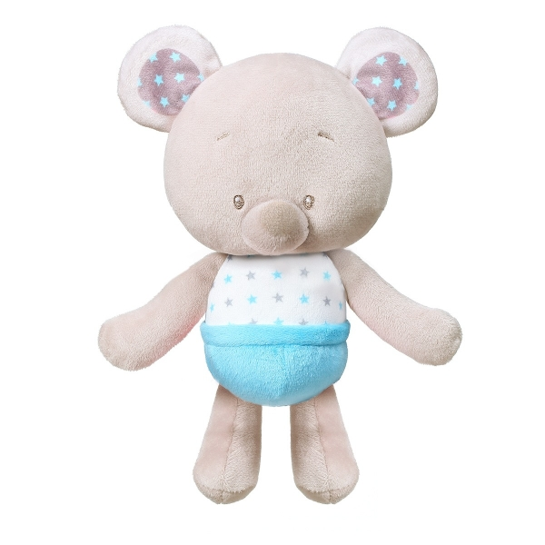 BabyOno Plyšová hračka s rolničkou - Bear Tony