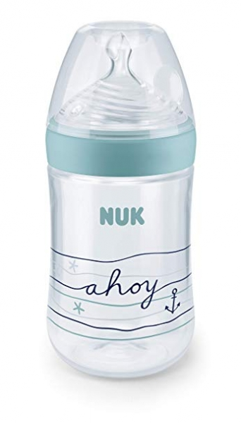 Fľaša Nuk Nature Sense Beach - modrá