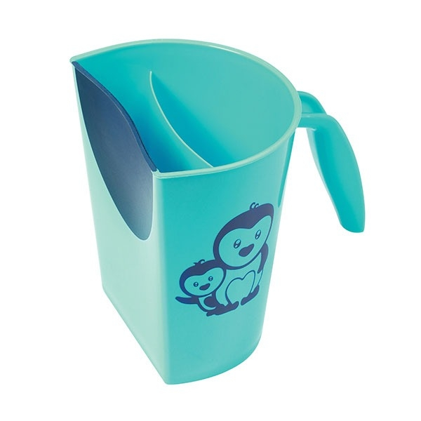 Hrnček na kúpanie, umývanie hlavičky BabyOno s obrázkom - modrý