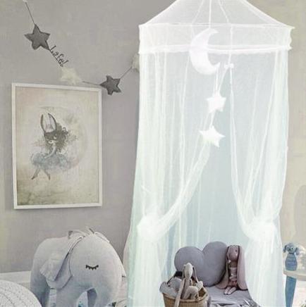 Závesné luxusné nebesia, moskytiéra Lafel, sieť proti hmyzu - biele