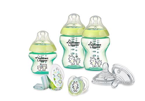 Tommee Tippee Novorodenecká štartovacia sada - zelená