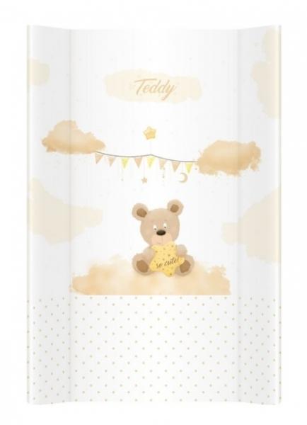 Klups, prebaľovacia podložka - tvrdá - na postieľku 120x60 cm. Teddy 069