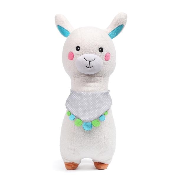 BabyOno Plyšová hračka s hrkálkou - Lama Alabama