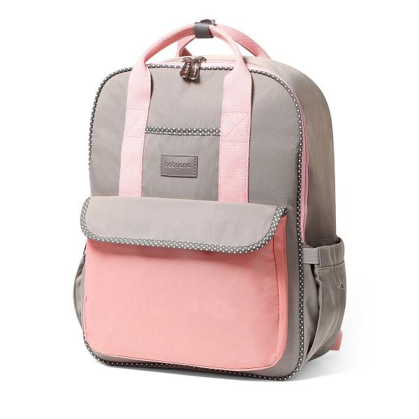 BabyOno Batoh, taška ku kočíku London Look + prebaľovacia podložka zdarma - ružová