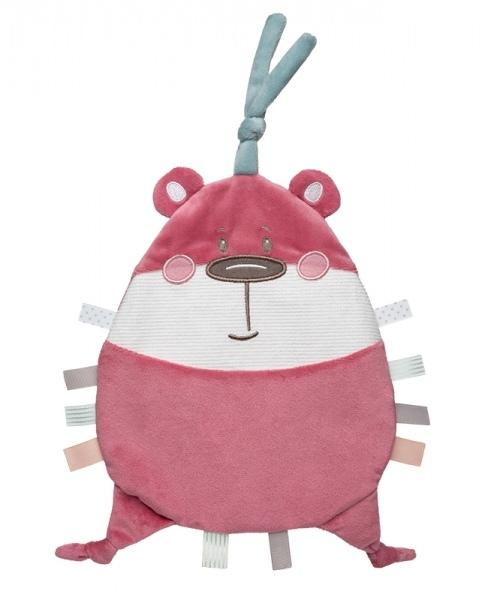 Canpol Babies Šuštiace maznáčik - Pastel Friends - ružový