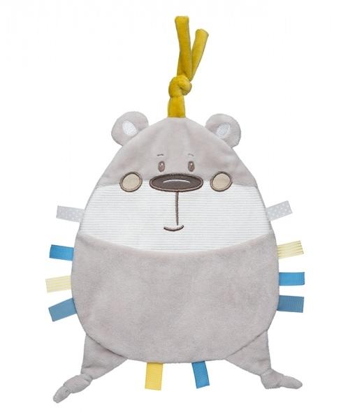 Canpol Babies Šuštiace maznáčik - Pastel Friends - sivý