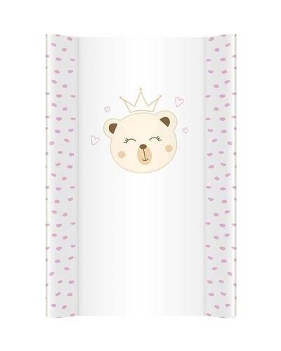 Klups, prebaľovacia podložka - mäkká - na komodu - Medvedík Princezna N251