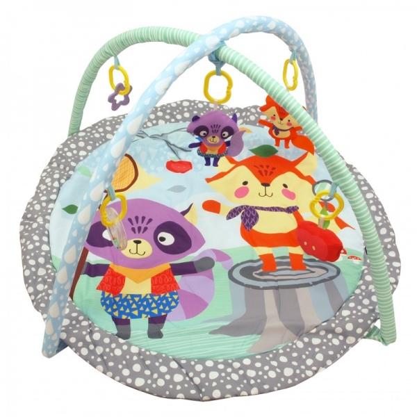 BABY MIX Vzdelávacia hracia deka - Priatelia