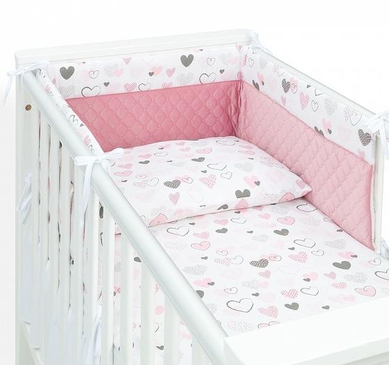 Mamo Tato Dojčiací vankúš - relaxačná poduška Multi - Srdiečka pastel