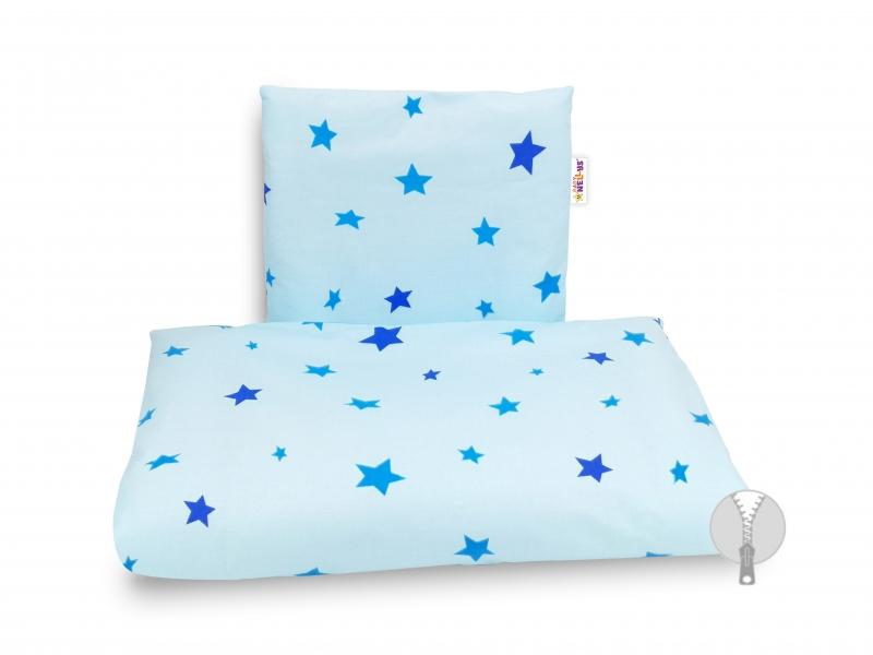 4-dielna súprava do kočíka, Baby Nellys - Hviezdičky modré