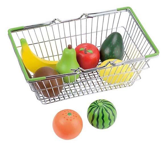 Lelin Nákupný košík s ovocím