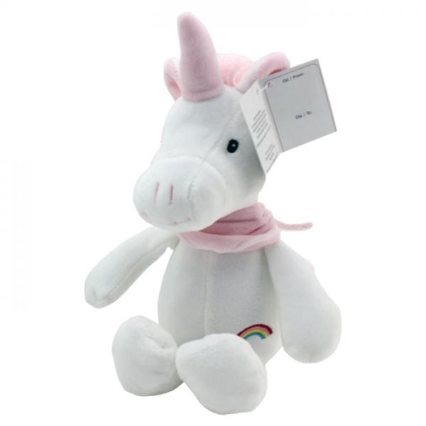 Plyšová hračka Tulilo Jednorožec, 20 cm - ružový
