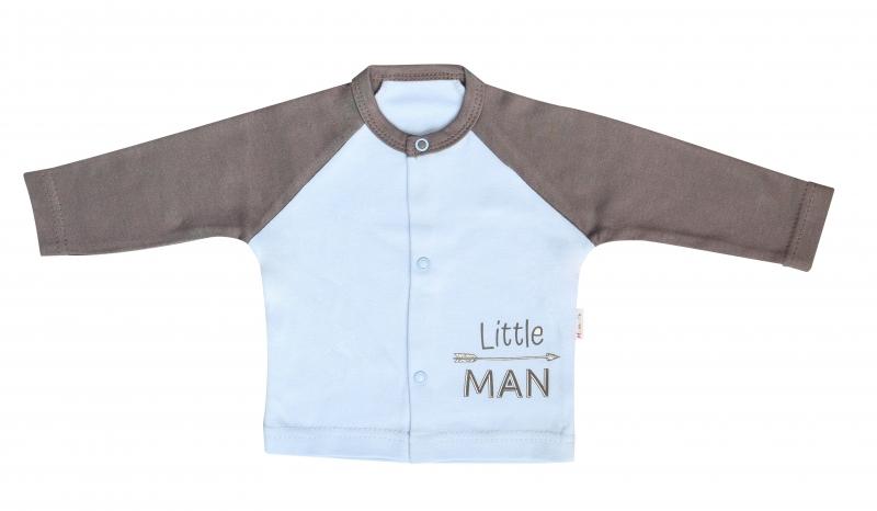 Mamatti Bavlnená košieľka Little Man, veľ. 68