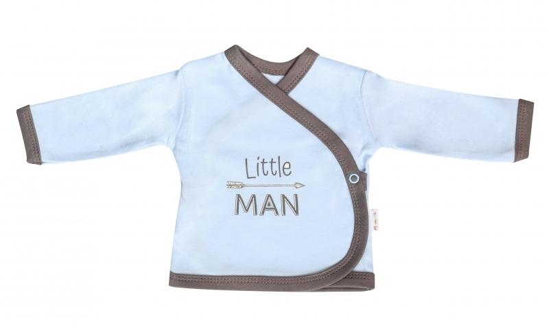 Mamatti Košieľka Little Man - zapínanie bokom, veľ. 62