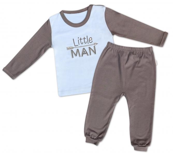 Mamatti Bavlnené pyžamko Little Man-80 (9-12m)