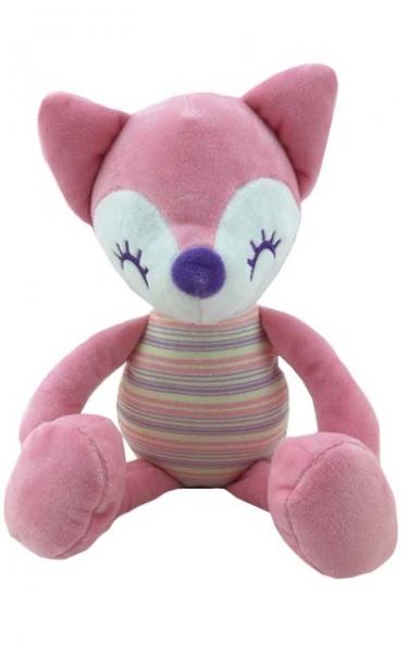 Plyšová hračka Tulilo Liška Rajan, 23 cm - ružová