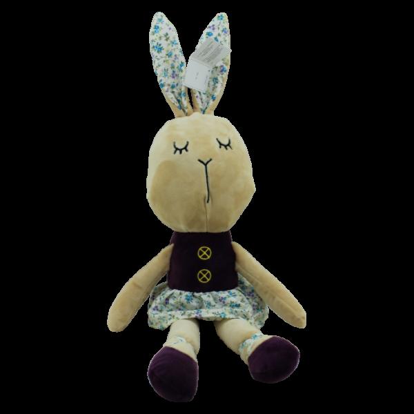 Plyšová hračka Tulilo Králíček - Baletka fialová
