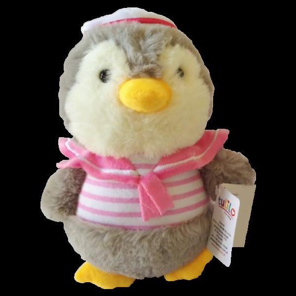 Plyšová hračka Tulilo Tučniak - ružová