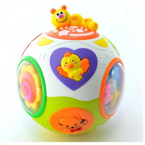 Euro Baby Interaktívna hračka Šťastná gule