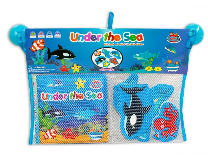 Barney&Buddy Vodolepky do kúpeľa - Morské zvieratká