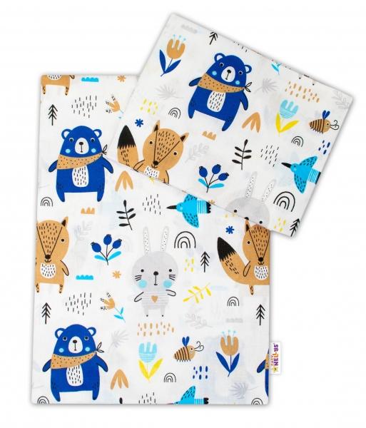 Baby Nellys Bavlnené obliečky, roz. 135x100 cm- Forest boy