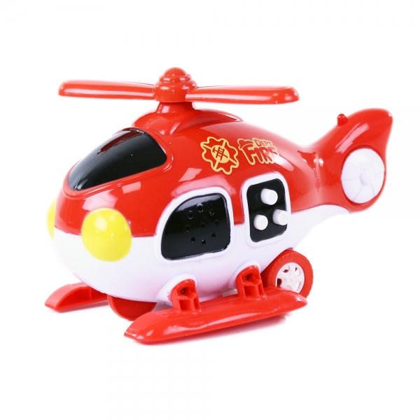 Helikoptéra hasiči zvuk, svetlo