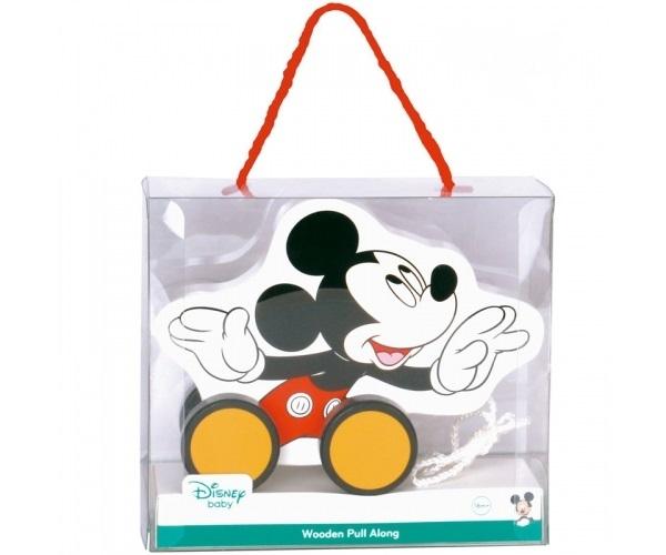 Drevená ťahacie hračka Disney - Mickey Mouse
