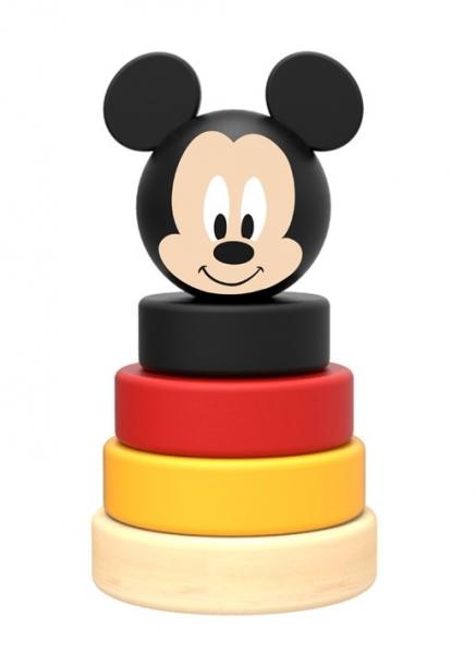 Drevená pyramída Disney skladačka - Mickey Mouse