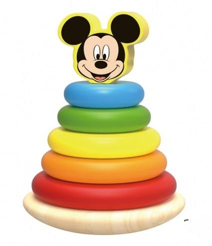 Drevená pyramida Disney velká, Mickey Mouse