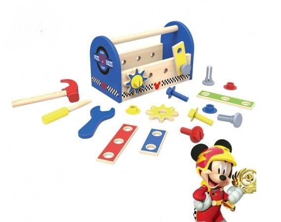 Drevené náradie Disney v boxe, Mickey, 25 x 13 x 15 cm