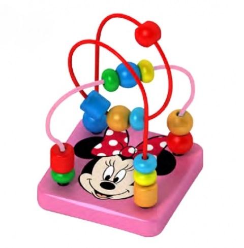 Drevený interaktívny Disney labyrint, Minnie, 9x12 c