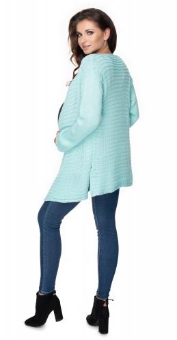 Tehotenský sveter / kardigan - matový