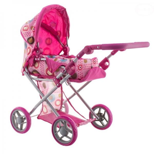 Euro Baby Kombinovaný kočík pre bábiky - Farebné krúžky