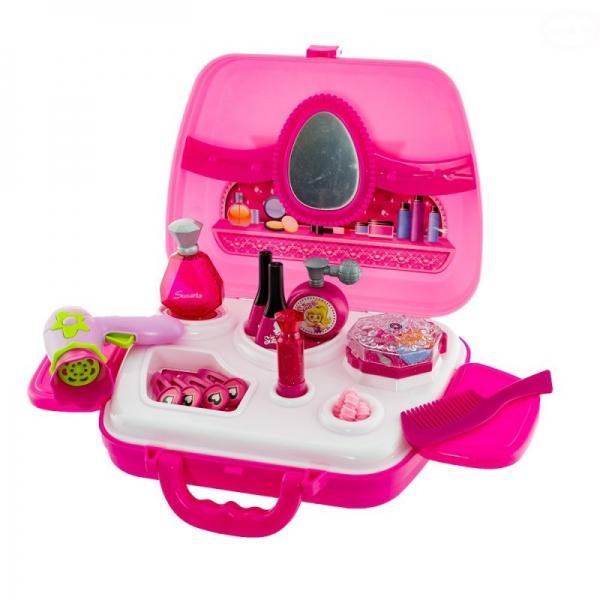 Euro Baby Detský toaletný kufrík - ružový